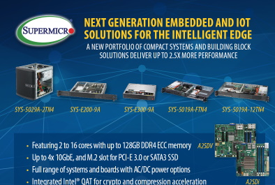 Intelligent Edge-Computing: Intel® Atom™ C3000