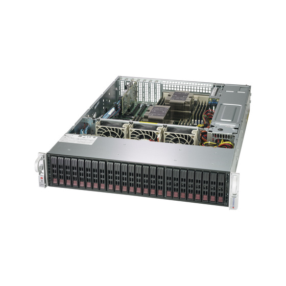 Supermicro CSE-216BE1C-R920LPB 2U Chassis 24x2,5 Single-Expander 2x920W