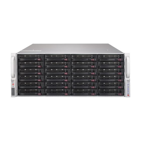 Supermicro CSE-846BE1C-R1K23B 4U Chassis 24x3,5 Single-Expander 2x1200W
