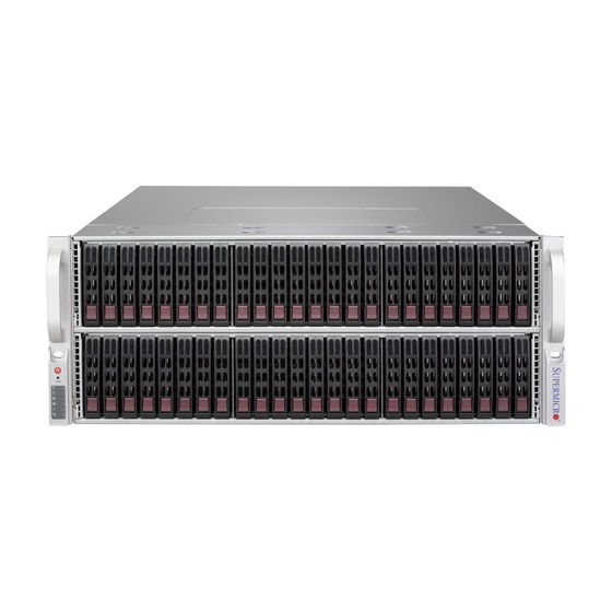 Supermicro CSE-417BE1C-R1K28LPB 4U Chassis 72x2,5 Single-Expander 2x1280W