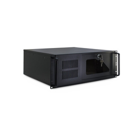 "Inter-Tech 4U-4088-S 4U Chassis max. 8x3,5"" 3x5,25"" Short o. PSU"