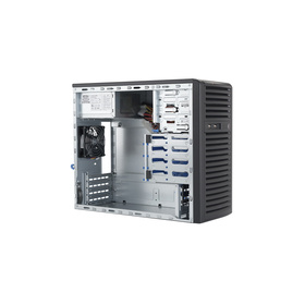 "Supermicro CSE-731i-300B Tower Chassis 4x3,5"" 300W"