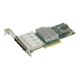 Supermicro AOC-STG-i4S 10G Quad Port PCIe Server NIC 4x SFP+