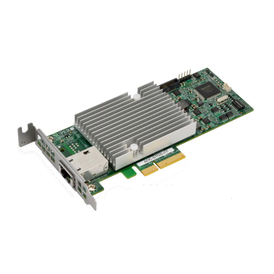 Supermicro AOC-STGS-I1T 10G Single Port PCIe Server NIC 1x RJ-45
