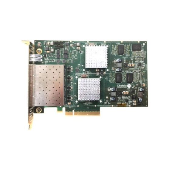 Chelsio T6425-CR 25G Quad Port PCIe Server NIC 4x SFP28 w/ iWARP RDMA