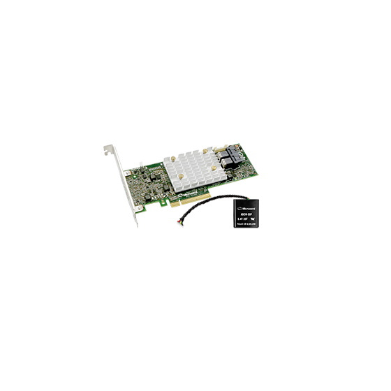 Microsemi Adaptec SmartRAID 3154-8i 8-Port SAS/SATA 12Gb/s 4GB /w ZMCP