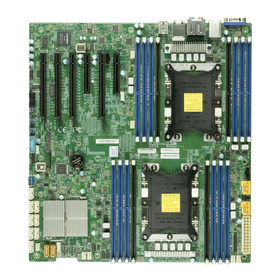 Supermicro X11DAi-N max. 4TB 2xU.2 M.2 USB-C Audio Workstation