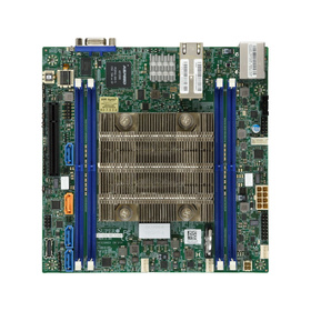 Supermicro X11SDV-16C-TLN2F max. 512GB 2x 10GbE 1xU.2 IPMI w/ Intel Xeon D-2183IT 22MB / 16x 2.2GHz / 32T / 100W