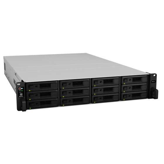 Synology RS2418RP+ 2U 12-Bay 4-Core 4GB 4x1GbE Red. PSU