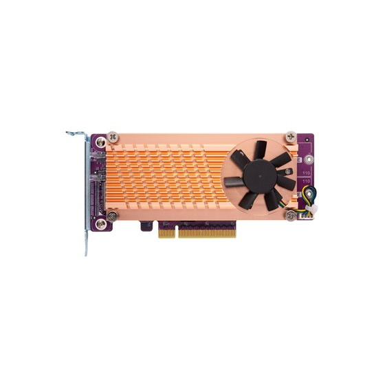 QNAP QM2-2P-384 2x M.2 NVMe Expansion Card