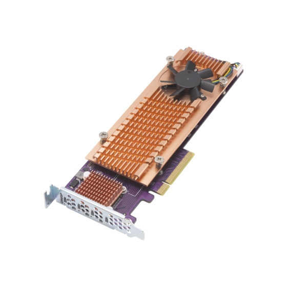 QNAP QM2-4P-284 4x M.2 NVMe Expansion Card