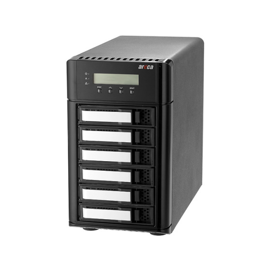 Areca ARC-8050U3-6 Desktop 3,5 6-Bay USB 3.2 10Gb/s RAID System
