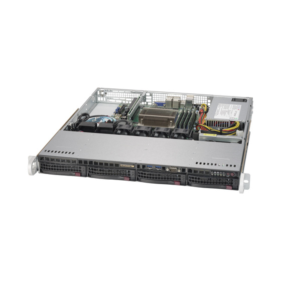 Supermicro SuperServer SYS-5019S-MN4 1U max. 64GB 4xGbE 4x3,5 S1151
