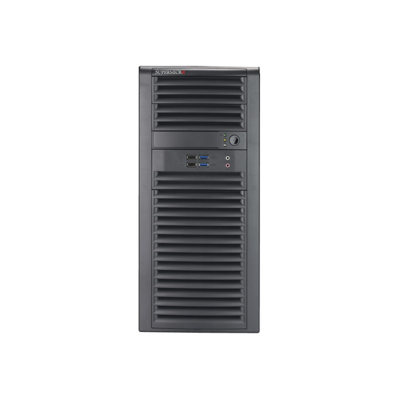 Supermicro SuperServer SYS-5039A-iL Tower max. 64GB 2xGbE Workstation S1151