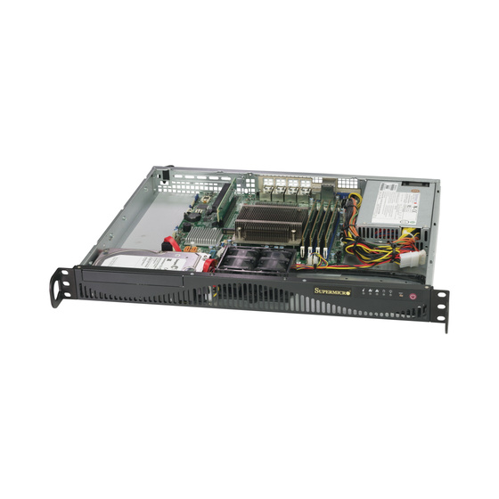 Supermicro SuperServer SYS-5019C-M4L 1U max. 128GB 4xGbE Short S1151v2