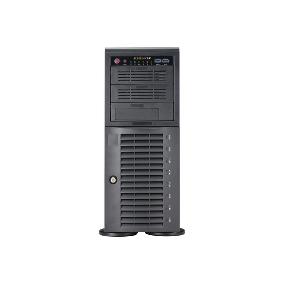 Supermicro SuperServer SYS-5049A-T Tower max. 3TB 1x10GbE 8x3,5 Workstation S3647