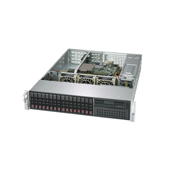 Supermicro SuperServer AS-2113S-WTRT 2U max. 4TB 2x10GbE 16x2,5 WIO 2x1200W UP SP3