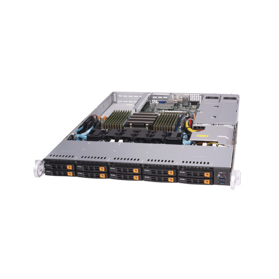 Supermicro SuperServer AS-1113S-WN10RT 1U max. 4TB 2x10GbE 10xNVMe 3xPCIe 2x750W UP SP3
