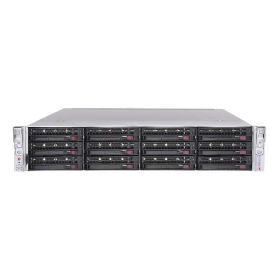 Supermicro SuperServer AS-2023US-TR4 2U max. 8TB 4xGbE 12x3,5 WIO 2x1600W DP SP3