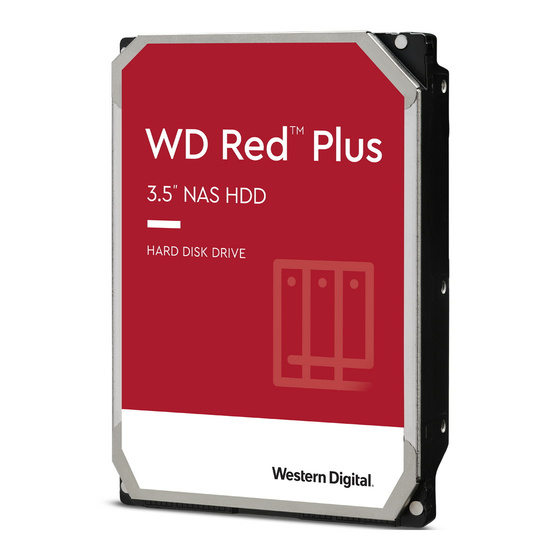 WD RED Plus WD40EFZX (CMR) 3,5 SATA 6Gb/s 4TB 5.4k 128MB 24x7