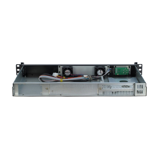 Inter-Tech 1U-K-126L 1U Chassis 2x2,5 Short o. PSU