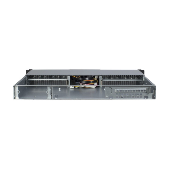 Inter-Tech 1U-10240 1U Chassis max. 8x2,5 Short o. PSU