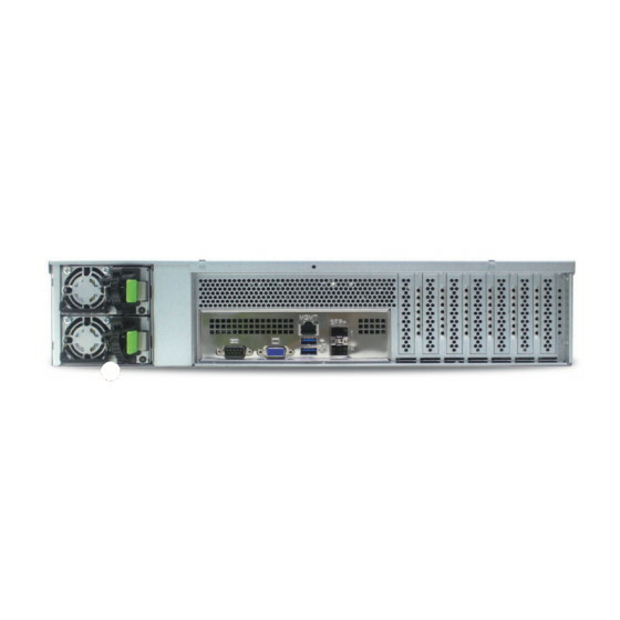 AIC XE0-492KT-01 2U Chassis 8x3,5 4x2,5 2x550W